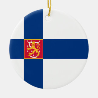 Finland State Flag Ornament