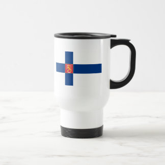 finland state travel mug