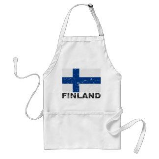 Finland Vintage Flag Standard Apron