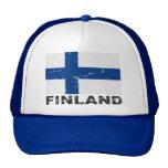 Finland Vintage Flag Trucker Hat