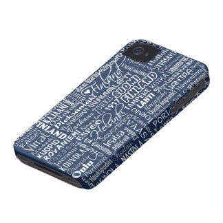 Finland's Towns iPhone case-mate Case-Mate iPhone 4 Cases