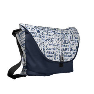 Finland's Towns messenger bag