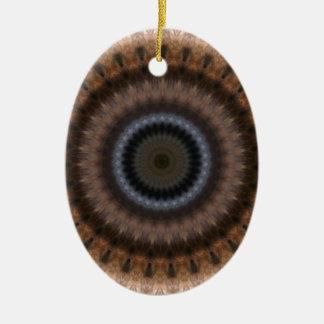 finn ceramic oval decoration