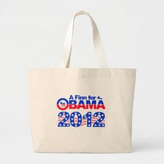 FINN FOR OBAMA 2012 bag