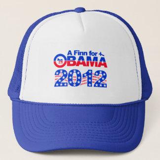 FINN FOR OBAMA 2012 hat