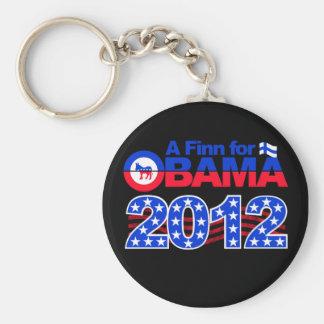FINN FOR OBAMA 2012 keychain