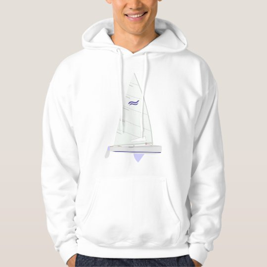 Finn  Racing Sailboat onedesign Olympic Class Hoodie