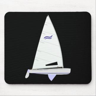 Finn Racing Sailboat onedesign Olympic Class Mouse Mat