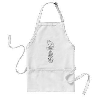 Finn the Cat Standard Apron