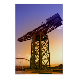 Finnieston Crane Poster Print