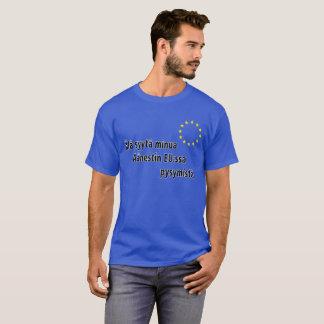 Finnish Älä syytä minua Aänestin EU-ssa pysymistä T-Shirt