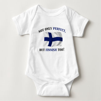 Finnish and Perfect Baby Bodysuit