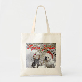 Finnish Bulldog Christmas 2 Tote Bag