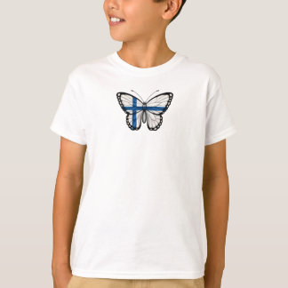 Finnish Butterfly Flag T-Shirt