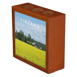 Finnish Countryside custom desk organizer
