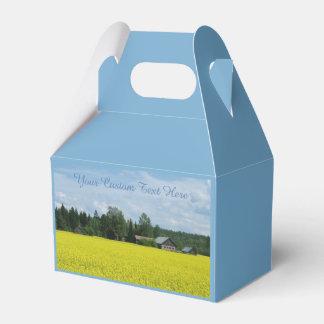 Finnish Countryside custom favor box