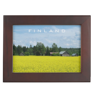 Finnish Countryside custom keepsake box