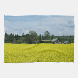 Finnish Countryside custom kitchen towel