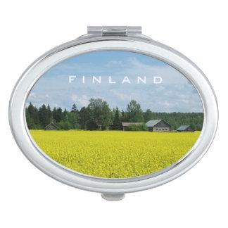 Finnish Countryside custom pocket mirror