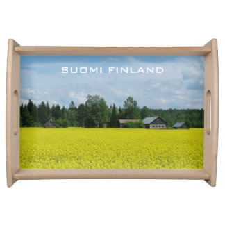 Finnish Countryside custom serving tray