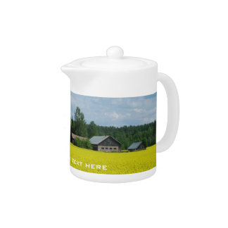Finnish Countryside custom teapot