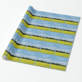 Finnish Countryside custom wrapping paper