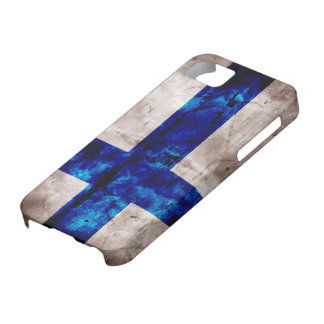 Finnish Flag iPhone 5 Cases