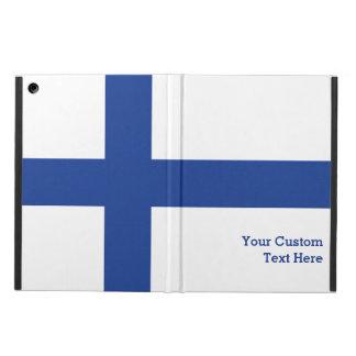Finnish Flag custom cases iPad Air Covers