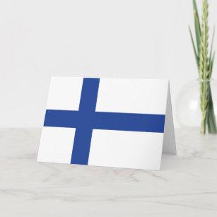 Finnish cards zazzle uk finnish flag custom greeting cards m4hsunfo