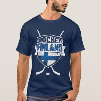 Finnish Hockey Logo Tee, Suomi T-Shirt
