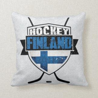 Finnish Hockey Shield Suomi Pillow