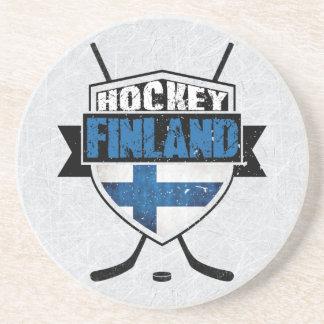 Finnish Ice Hockey Shield Suomi Coaster