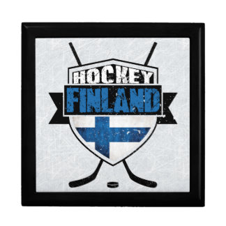 Finnish Ice Hockey Shield Suomi Tiled Box