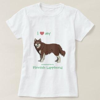 Finnish Lapphund brown and white shirt -