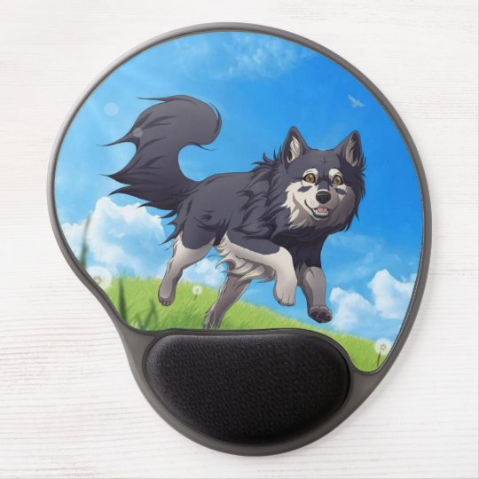 Finnish Lapphund gel mousepad Gel Mouse Mat