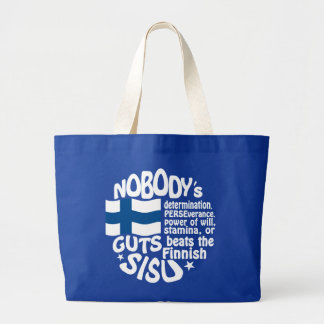 Finnish SISU bag - choose style & color
