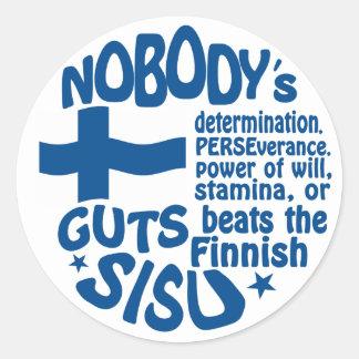 Finnish SISU stickers