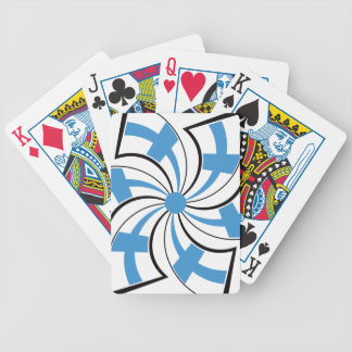 Finnish Star 2 Bicycle Playing Cards