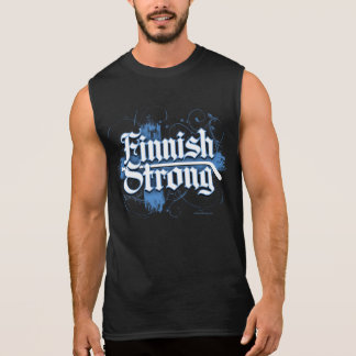 Finnish Strong (Hockey) Sleeveless Shirt