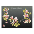 Finnish Thank you card with pretty pink Magnolia