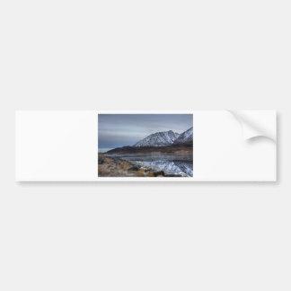 Finnmark in the autumn car bumper sticker