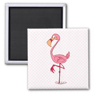 Finny Flamingo Refrigerator Magnets