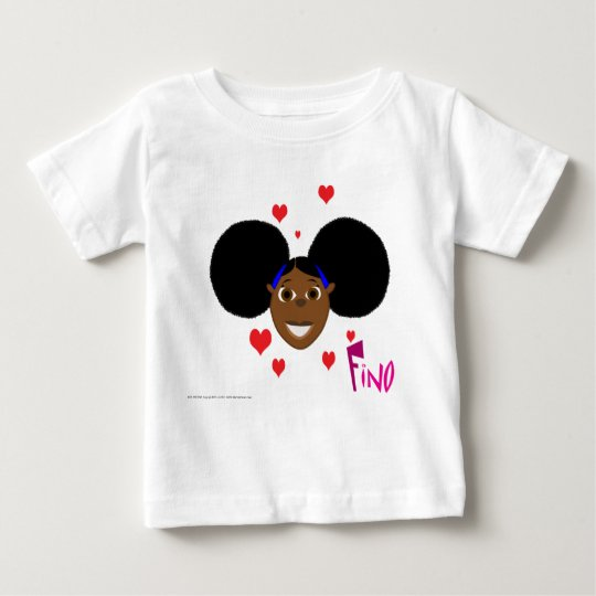 Fino Love Hearts Baby T-Shirt