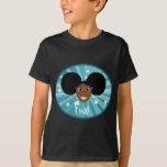 Fino Smiley Face Blue T-Shirt