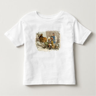 Fins Bringing Live Fish to Market, etched by the a Toddler T-Shirt