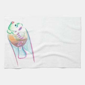 Fins Tea Towel