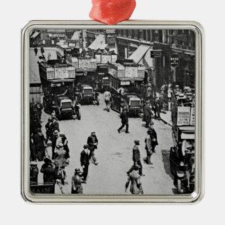 Finsbury Park Station, c.1923 Christmas Ornament