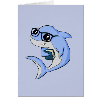 """Fintellectual"" Shark! Card"
