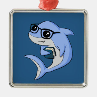 """Fintellectual"" Shark! Christmas Ornament"