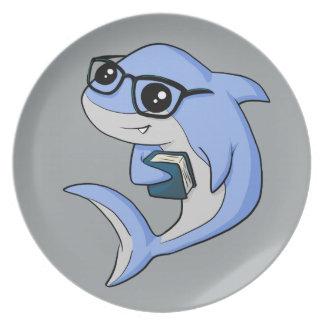"""""""Fintellectual"""" Shark! Plate"""